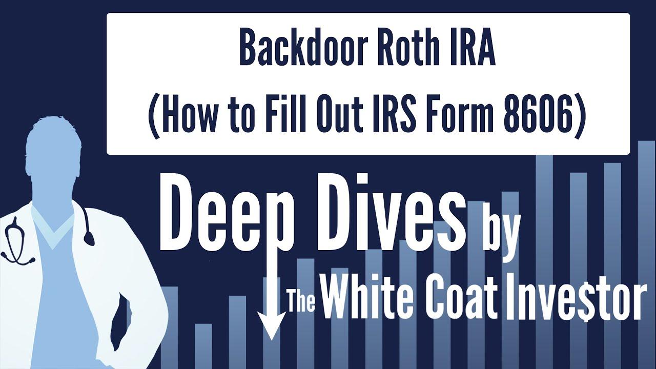 backdoor roth ira konversijos strategija