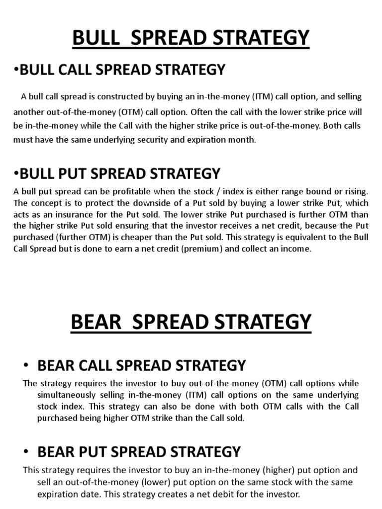 bull put spread pasirinkimo strategija prekybos akcijomis programinė įranga su signalais